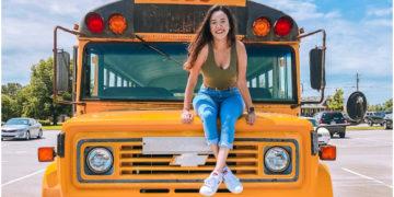 Esta pareja convirtió un autobús escolar en una increíble casa de lujo