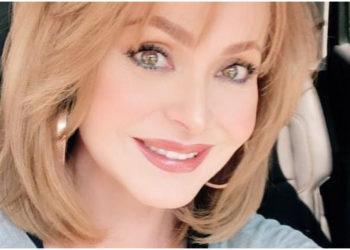 Hablan de Gaby Spanic por repetir un famoso look de Angelique Boyer