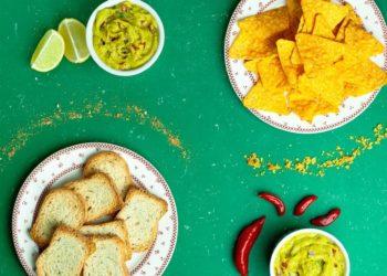 Guasacaca o salsa de mayonesa y cilantro