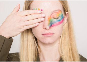 Maquillaje de colores o arcoíris: una idea muy cool para darle color a tu mirada