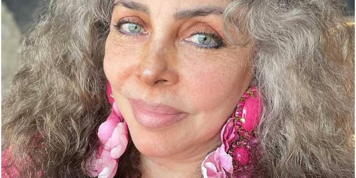 Verónica Castro se muestra al natural y da lección de amor propio