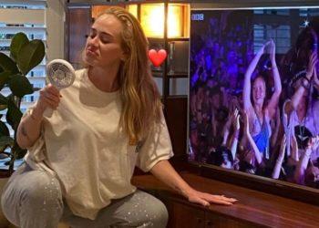 Sin filtros, poses ni maquillaje: Adele se muestra natural y rompe con los estereotipos