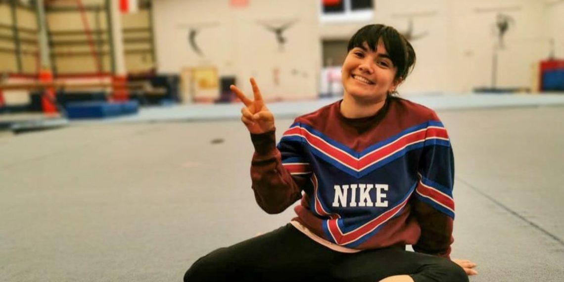 """Su mamá la puso a hacer gimnasia para """"cansarla"""" y ahora es atleta olímpica: la historia de Alexa Moreno"""