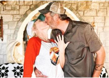 Gwen Stefani se casó con Blake Shelton y cautivó con su look