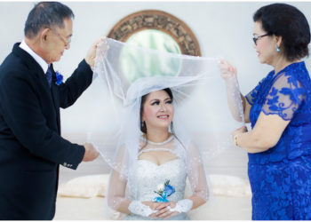 Tips para agregarle algo azul al vestido de novia, para las que creen que trae buena suerte