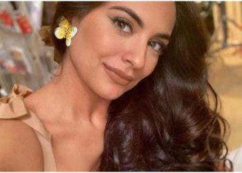 Ana Brenda Contreras usa un elixir casero para tener un cabello sano, largo y espectacular