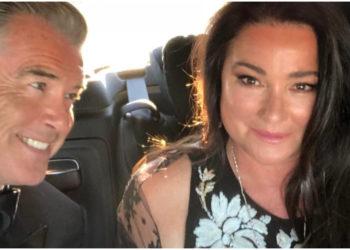 Pierce Brosnan ama a su esposa como es y no quiere que se haga una liposucción por presión social